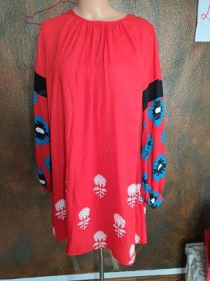 Desigual Sukienka tunika czerwony