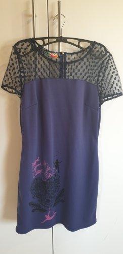 Desigual Sukienka koktajlowa niebiesko-fioletowy-niebieski