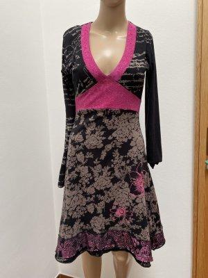Desigual Longsleeve Dress multicolored