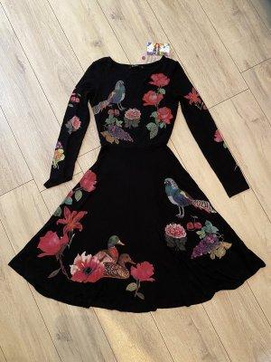 Desigual Sukienka midi Wielokolorowy