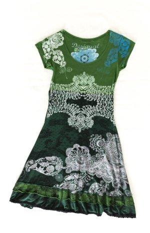 Desigual Kleid Größe S / 36   grün, schwarz, weiß