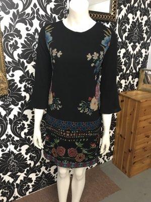Desigual Kleid in Gr.36/S in schwarz / bunt, neu!