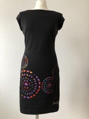Desigual Kleid kurz, schwarz, Gr. M