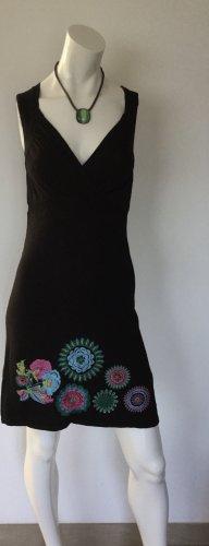 Desigual Kleid mit Blumenstickerei Gr M