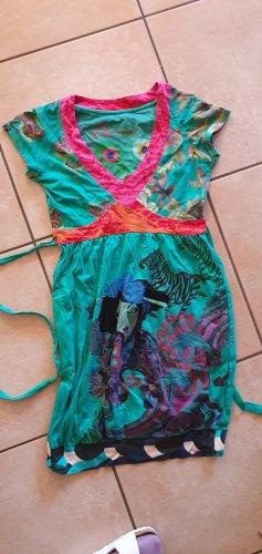 Desigual Sukienka z dżerseju zielony