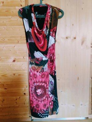 Desigual Kleid Wasserfall-Ausschnitt, S