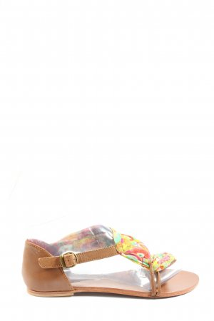Desigual Comfortabele sandalen abstract patroon casual uitstraling