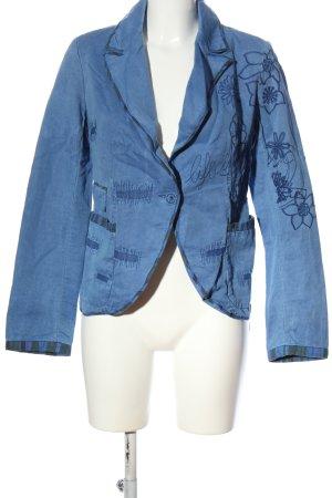 Desigual Kurz-Blazer blau Casual-Look