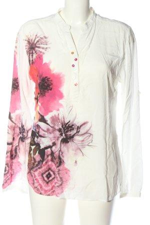 Desigual Long Sleeve Blouse flower pattern casual look