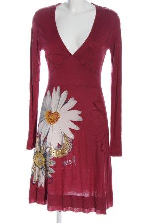 Desigual Longsleeve Dress allover print casual look