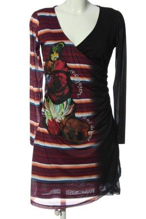 Desigual Longsleeve Dress flower pattern casual look