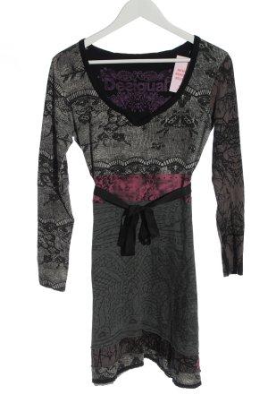 Desigual Longsleeve Dress abstract pattern casual look