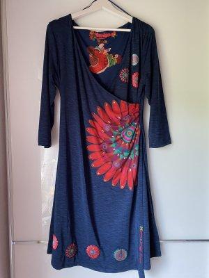 Desigual Sukienka z długim rękawem Wielokolorowy