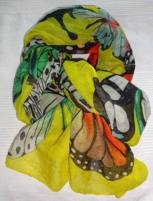 Desigual Fazzoletto da collo multicolore Poliestere