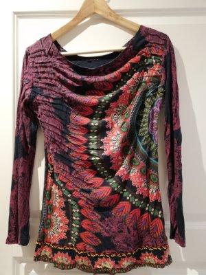 Desigual Camicia lunga multicolore