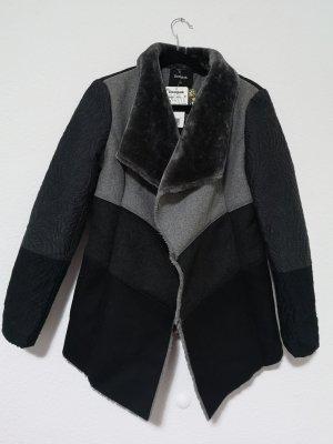 Desigual Veste mi-saison noir-gris