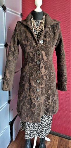 Desigual Long Jacket brown