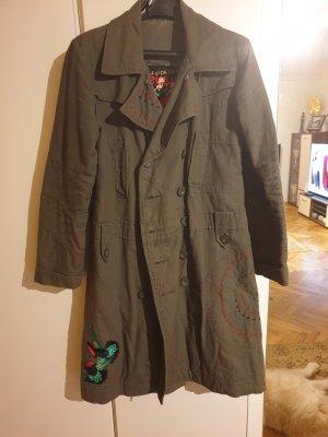 Desigual Robe manteau kaki