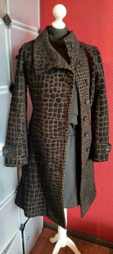 Desigual Manteau mi-saison brun-noir
