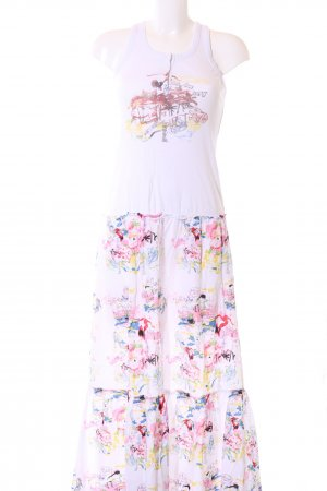 Desigual Maxikleid abstraktes Muster Casual-Look