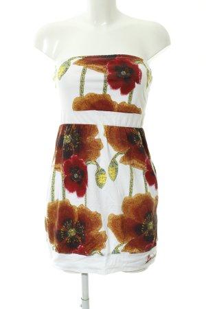 Desigual Minikleid Blumenmuster Casual-Look