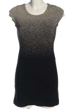 Desigual Minikleid schwarz-creme meliert Casual-Look
