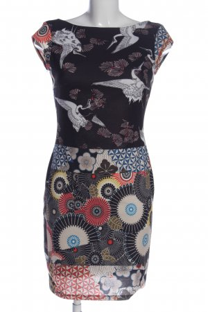 Desigual Minikleid abstraktes Muster Casual-Look