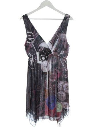Desigual Mini Dress allover print extravagant style
