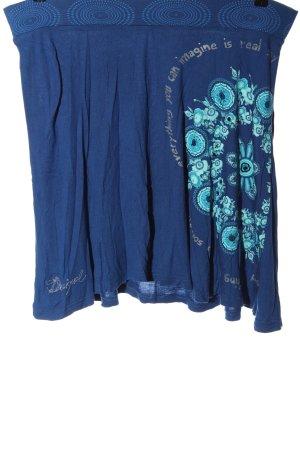 Desigual Spódnica mini Abstrakcyjny wzór W stylu casual