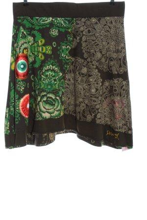 Desigual Minifalda estampado con diseño abstracto look casual