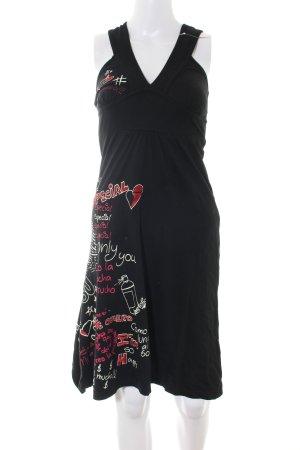 Desigual Robe dos-nu imprimé avec thème style décontracté