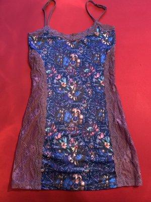 Desigual Peniuar jasny fiolet-stalowy niebieski