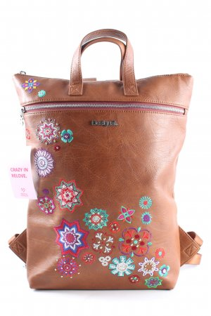 Desigual Notebookrucksack grafisches Muster Casual-Look
