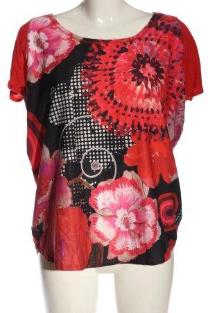 Desigual Print Shirt flower pattern casual look
