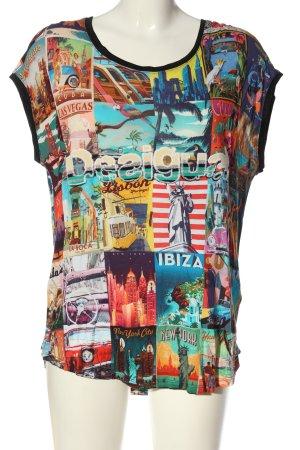 Desigual Print-Shirt Motivdruck Casual-Look