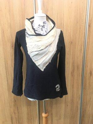 DESIGUAL Pullover Sweatshirt mit besonderem Kragen M 38