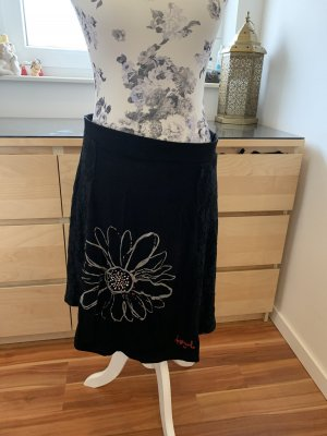 Desigual Stretch Skirt black