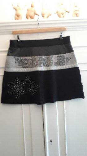 Desigual Stretch Skirt black-light grey