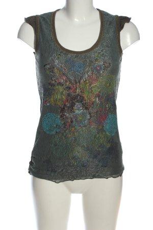 Desigual Schlupf-Bluse abstraktes Muster Casual-Look