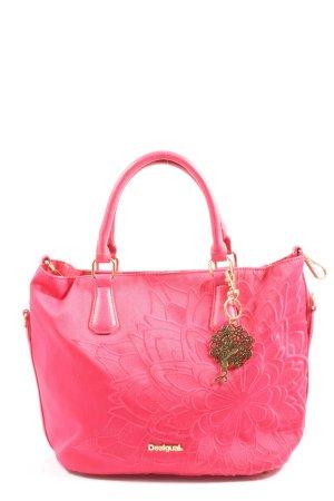 Desigual Handtasche pink Casual-Look