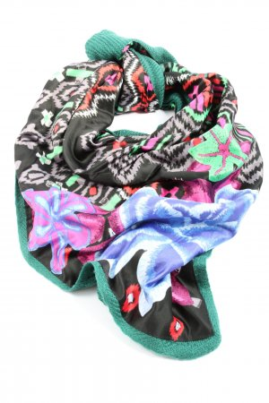 Desigual Shoulder Scarf abstract pattern casual look