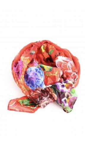 Desigual Sciarpa di seta multicolore Seta