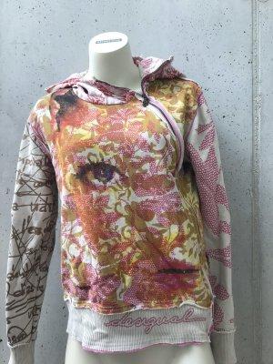 Desigual Camicia con cappuccio multicolore
