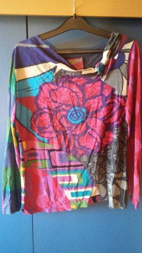 DESIGUAL Shirt, Langarm, bunt