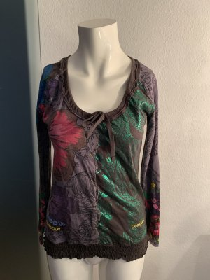 Desigual Shirt Longsleeve Gr 38 40 M von Desigual
