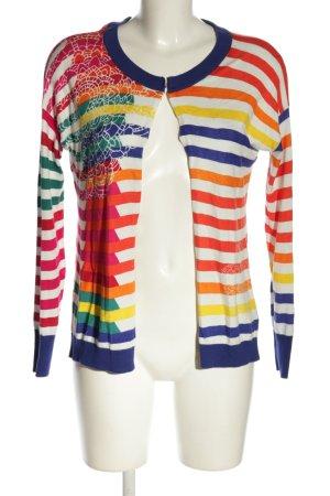 Desigual Shirtjacke Streifenmuster Casual-Look