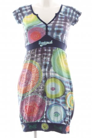 Desigual Shirtkleid Mustermix Casual-Look