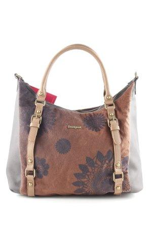 Desigual Shopper brun foncé-brun polyester