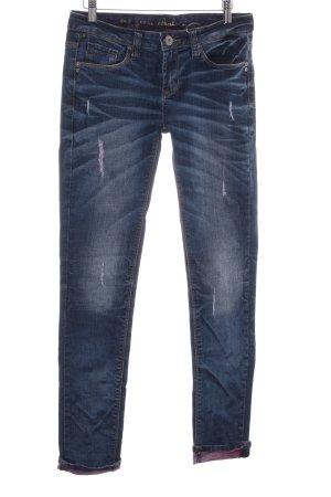 Desigual Skinny Jeans blau Casual-Look