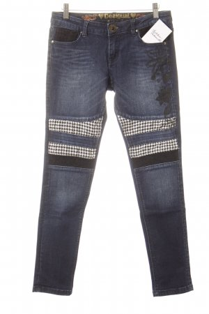 Desigual Skinny Jeans dunkelblau Casual-Look